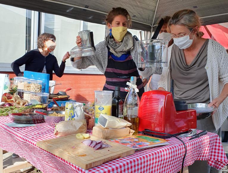 Atelier Soupe aux cailoux à Cocoricoop